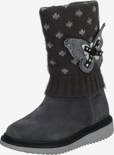 GEOX Boots in dunkelgrau, Produktansicht