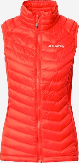 COLUMBIA Sportbodywarmer in de kleur Donkeroranje, Productweergave
