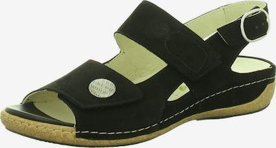 WALDLÄUFER Sandalette in schwarz, Produktansicht
