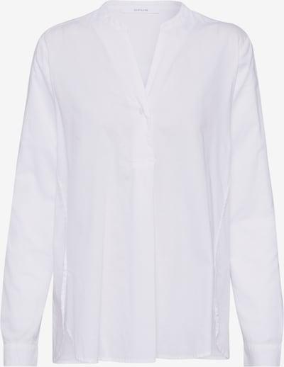 OPUS Tunique 'Fleming diagonal' en blanc, Vue avec produit