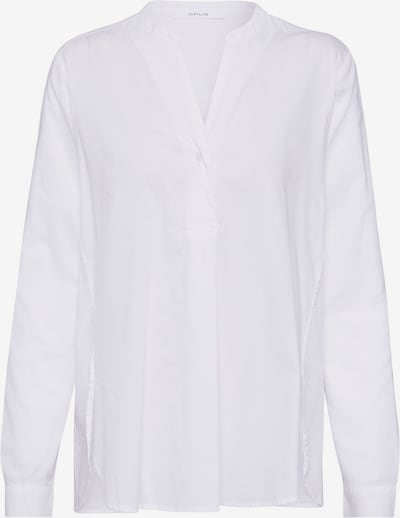 OPUS Tunika 'Fleming diagonal' in weiß, Produktansicht