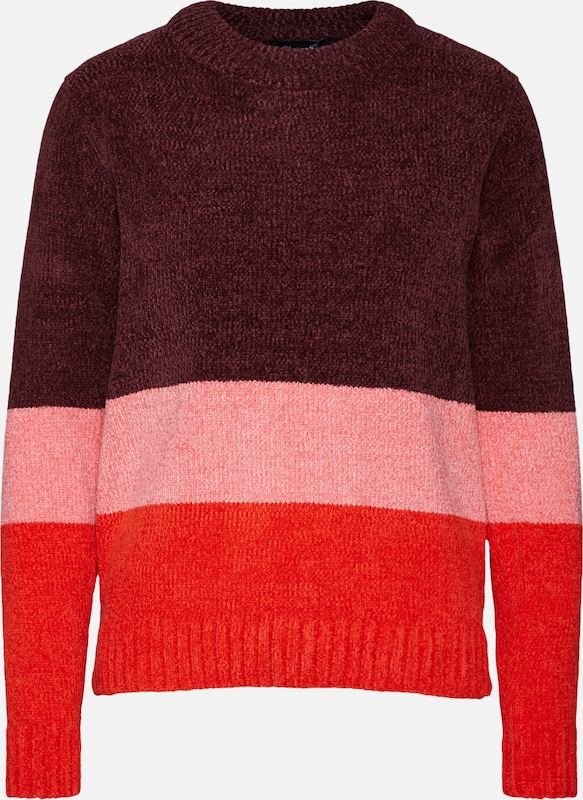 En Rouge Pull over Point 'henna Sisters block' RoseBourgogne Clair thCQrxsdBo