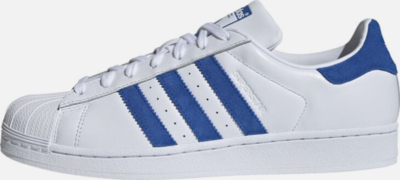 ADIDAS ORIGINALS Schuhe 'Superstar' in blau / weiß, Produktansicht