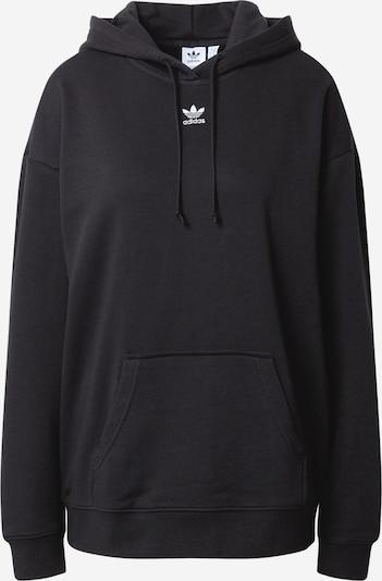 ADIDAS ORIGINALS Sweatshirt 'Trefoil Essentials' in schwarz / weiß, Produktansicht
