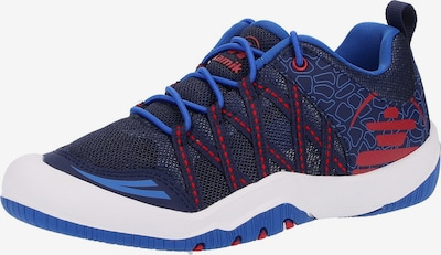 Kamik Chaussures basses en bleu / bleu marine / rouge, Vue avec produit