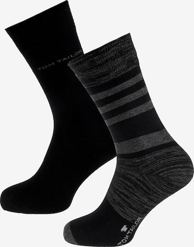 TOM TAILOR Socken in anthrazit / schwarz, Produktansicht