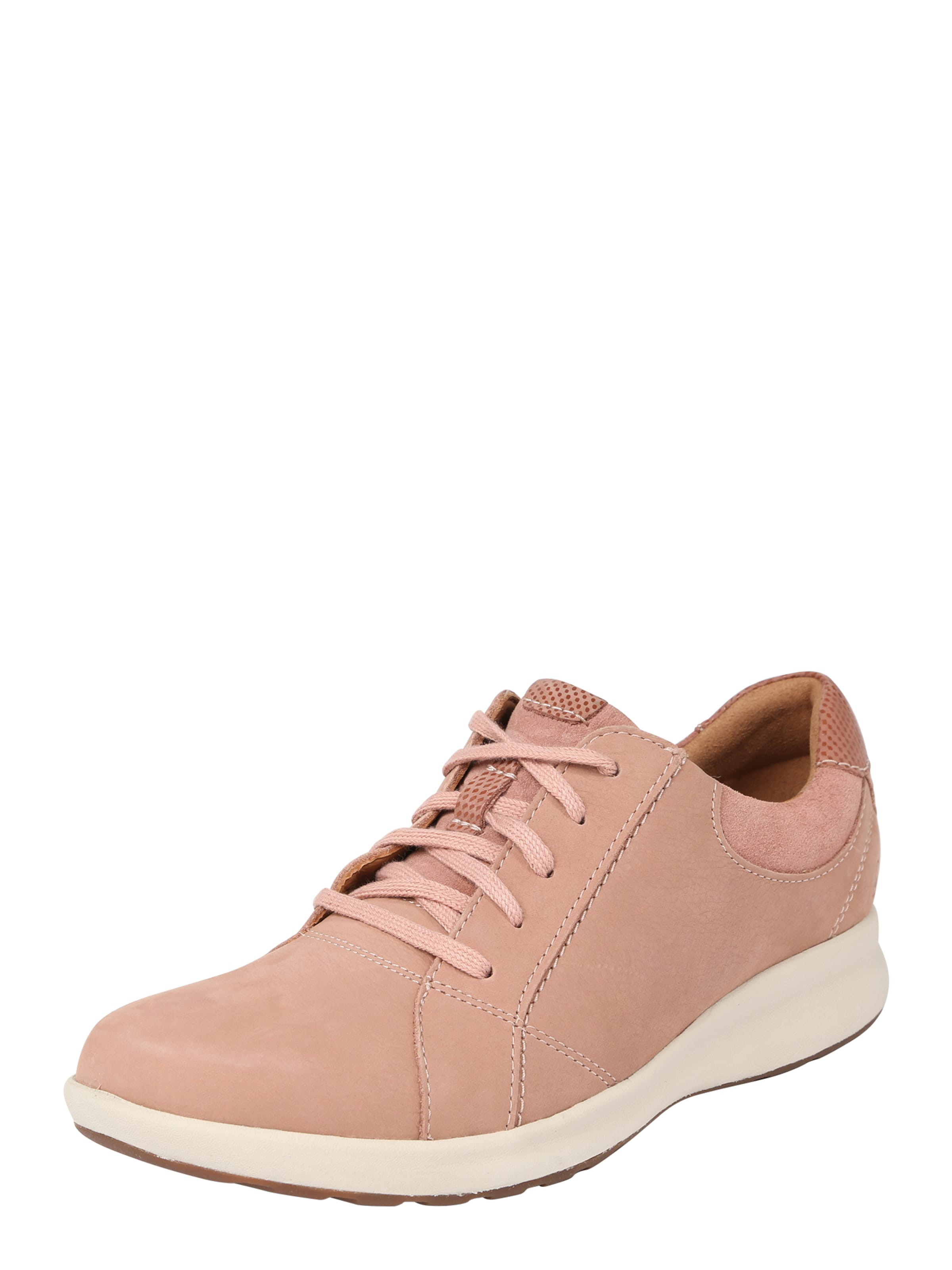 Clarks Adorn 'un Lace' In Sneaker Rosa j5ARL34