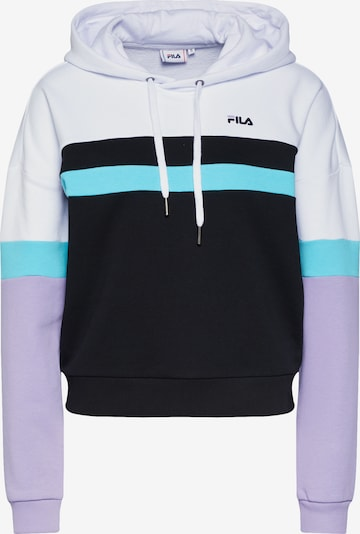 FILA Sweatshirt 'ELLA' in flieder / schwarz / weiß, Produktansicht