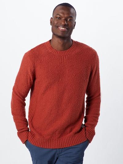 Megztinis iš JACK & JONES , spalva - raudona: Vaizdas iš priekio
