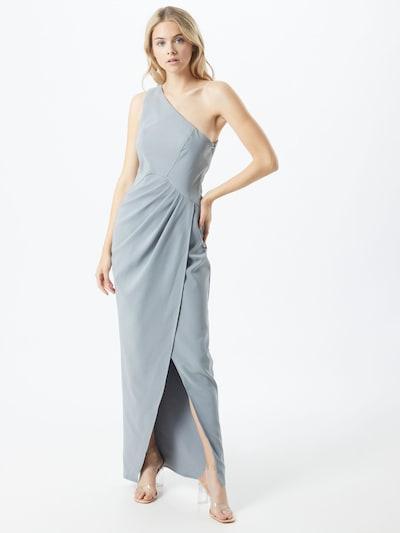 Chi Chi London Koktejlové šaty - kouřově modrá, Model/ka