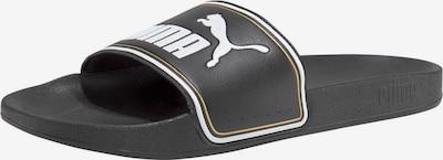 PUMA Sandale 'Leadcat FTR' in schwarz / weiß, Produktansicht