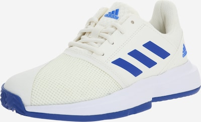 ADIDAS PERFORMANCE Sporta apavi 'CourtJam xJ' pieejami zils / dabīgi balts, Preces skats