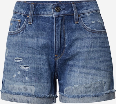 G-Star RAW Jeans-Shorts  '3301 High Boyfriend' in blue denim, Produktansicht