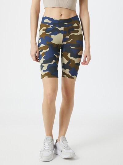 Urban Classics Hose in beige / blau / anthrazit / khaki, Modelansicht