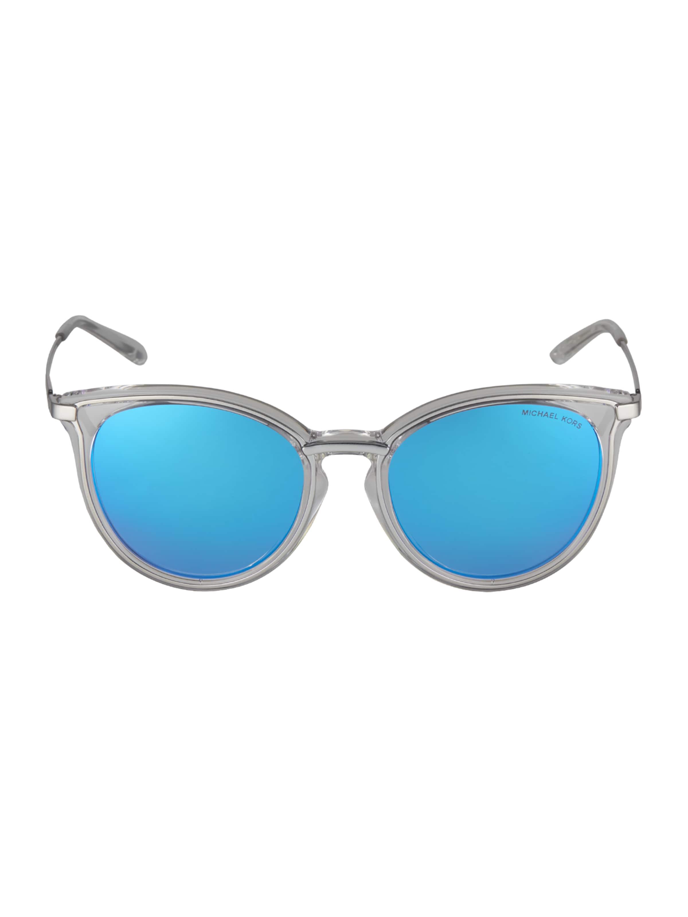 Michael Kors Solglasögon '0MK1077' i blå / silver / transparent