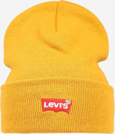 LEVI'S Mütze 'RED BATWING' in gelb / rot / weiß, Produktansicht