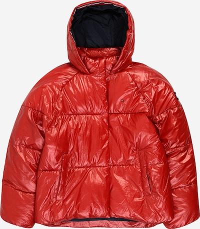 TOMMY HILFIGER Prehodna jakna | vinsko rdeča barva, Prikaz izdelka