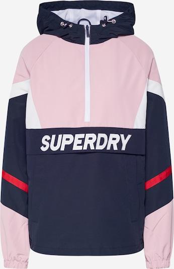 Superdry Tussenjas in de kleur Blauw / Rosa / Rood, Productweergave