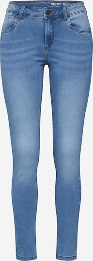 Noisy may Jeans 'JEN' in de kleur Blauw denim, Productweergave