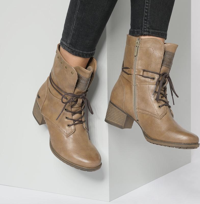 MUSTANG Schnürstiefeletten Günstige und langlebige Schuhe
