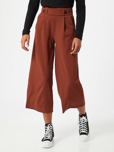 JACQUELINE de YONG Broek in de kleur Kastanjebruin, Modelweergave