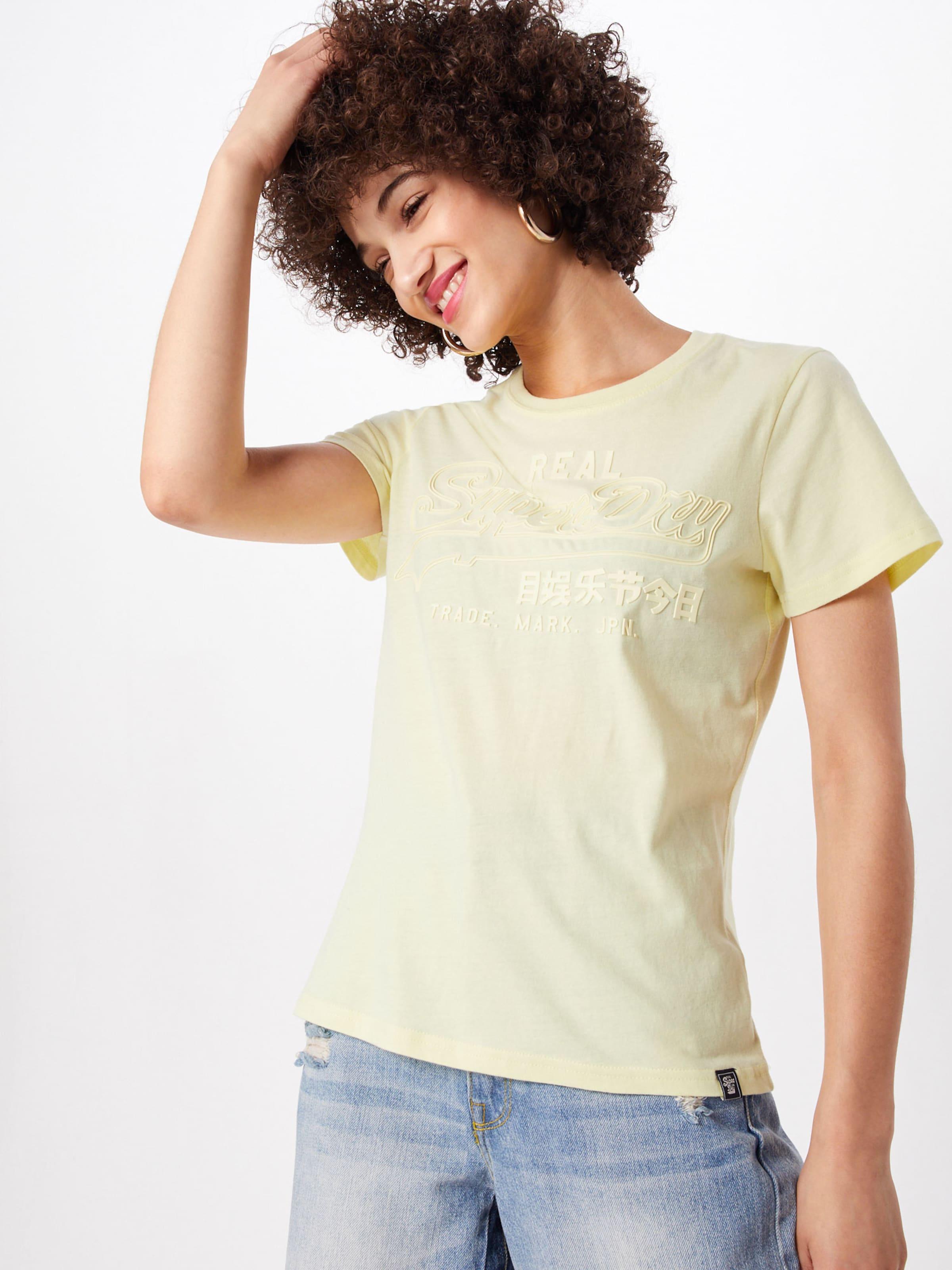 Gelb 'vintage' Superdry In In Superdry 'vintage' Superdry Shirt In Shirt 'vintage' Shirt Gelb vN0O8Pynwm
