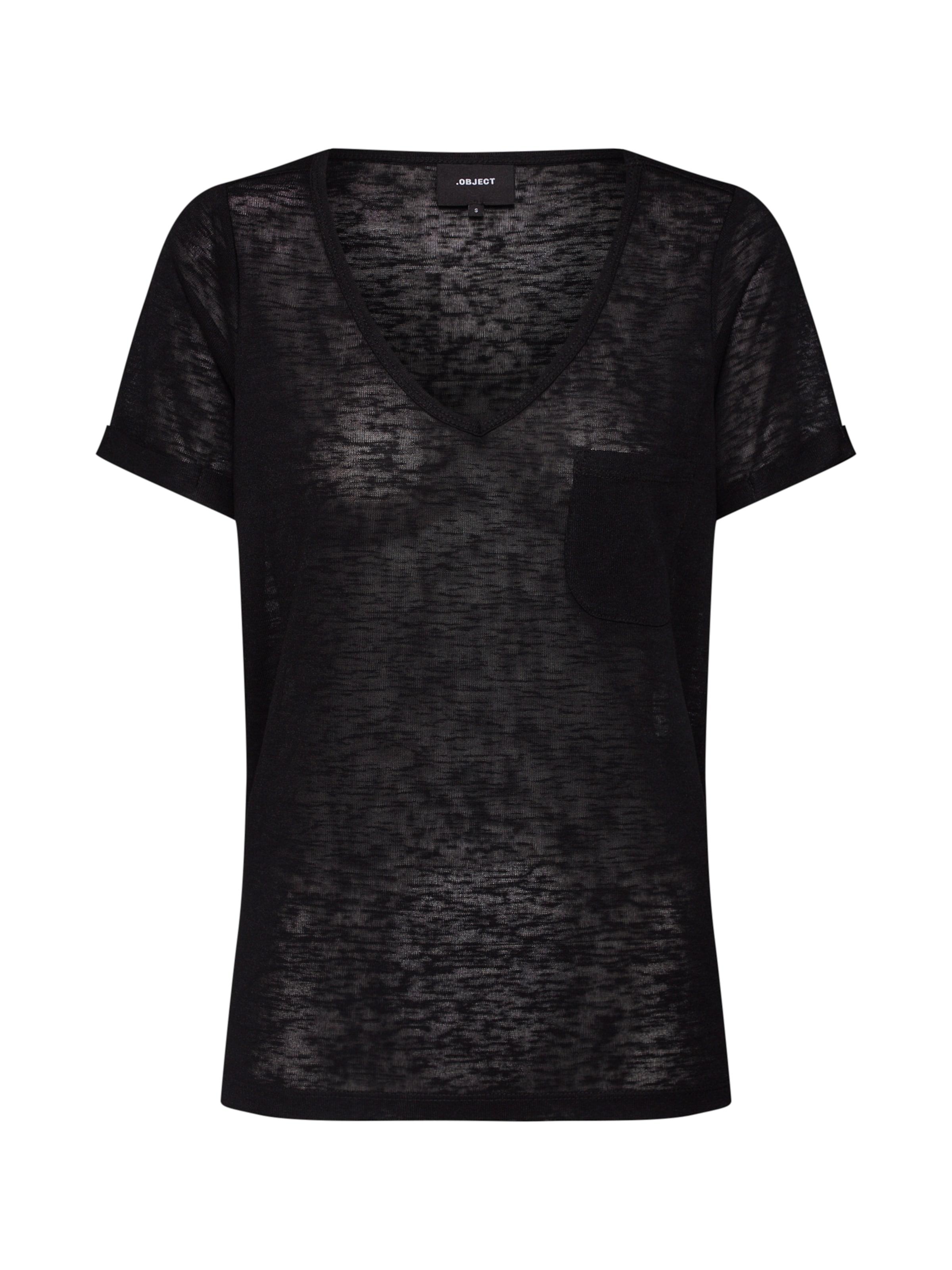 En T 'objtessi' Noir Object shirt QthCsdxr