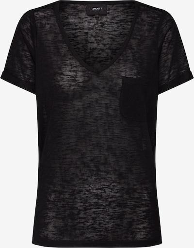 Tricou 'OBJTESSI' OBJECT pe negru, Vizualizare produs