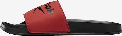 REEBOK Strand-/badschoen in de kleur Rood / Zwart, Productweergave
