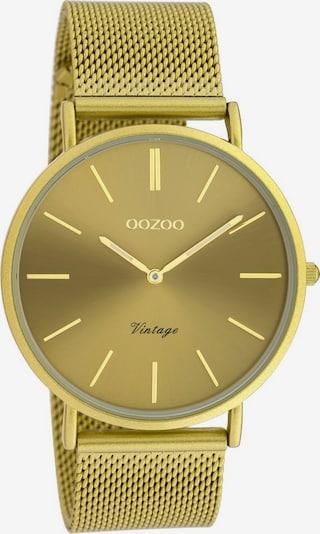 OOZOO Analog Watch 'C20000' in Mustard, Item view