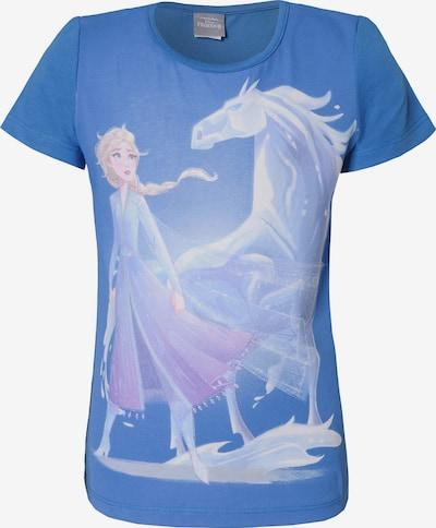 DISNEY T-Shirt 'Die Eiskönigin' in blau / rosa / weiß, Produktansicht