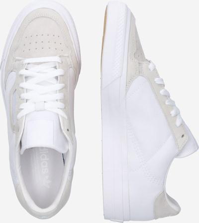 ADIDAS ORIGINALS Sneaker in beige / weiß: Seitenansicht