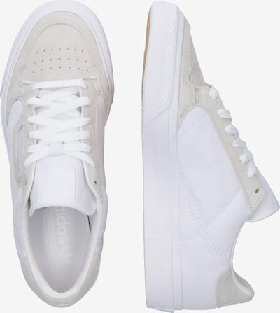 ADIDAS ORIGINALS Sneaker in creme / weiß: Seitenansicht