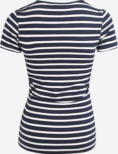 MAMALICIOUS Shirt 'Lea' in navy / weiß: Rückansicht