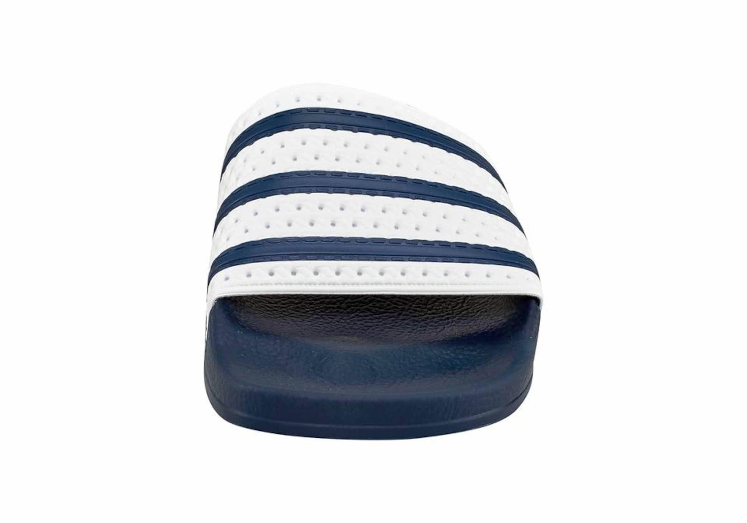 In Originals slider Bade Adidas NachtblauWeiß 'adilette' W2YEH9DebI
