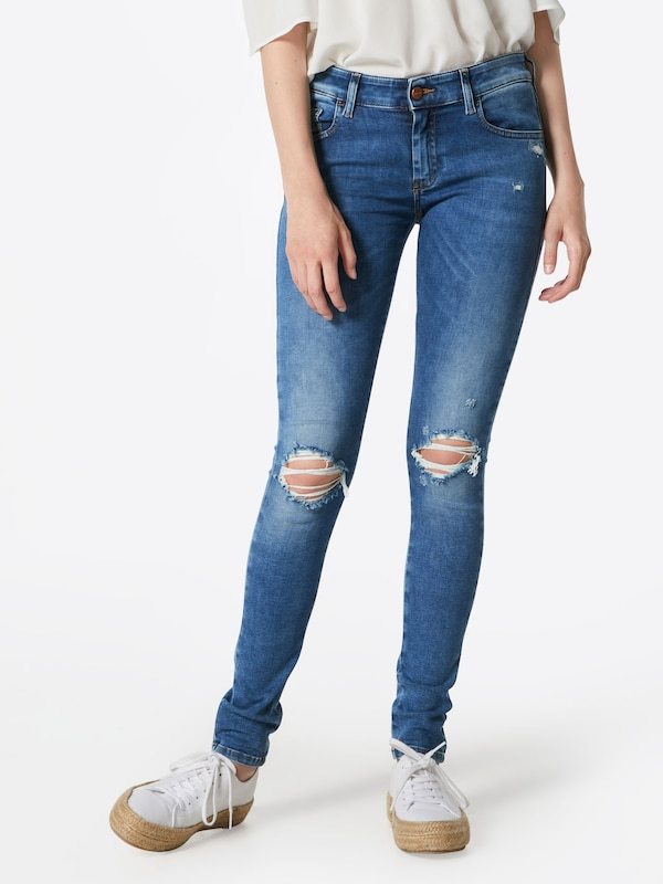 DIESEL Jeans 'SLANDY-LOW' in Blau denim    Neuer Aktionsrabatt 887b92