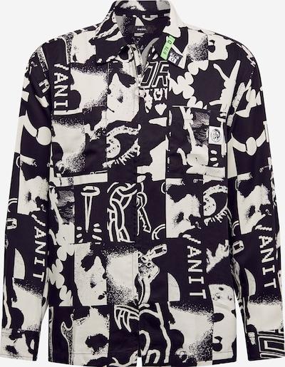 DIESEL Hemd 'KRUTZ' in schwarz / weiß, Produktansicht