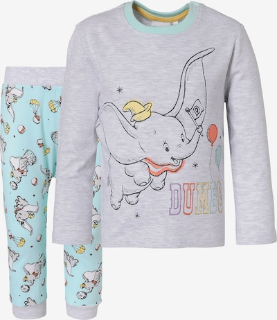 DISNEY Schlafanzug in hellblau / grau, Produktansicht