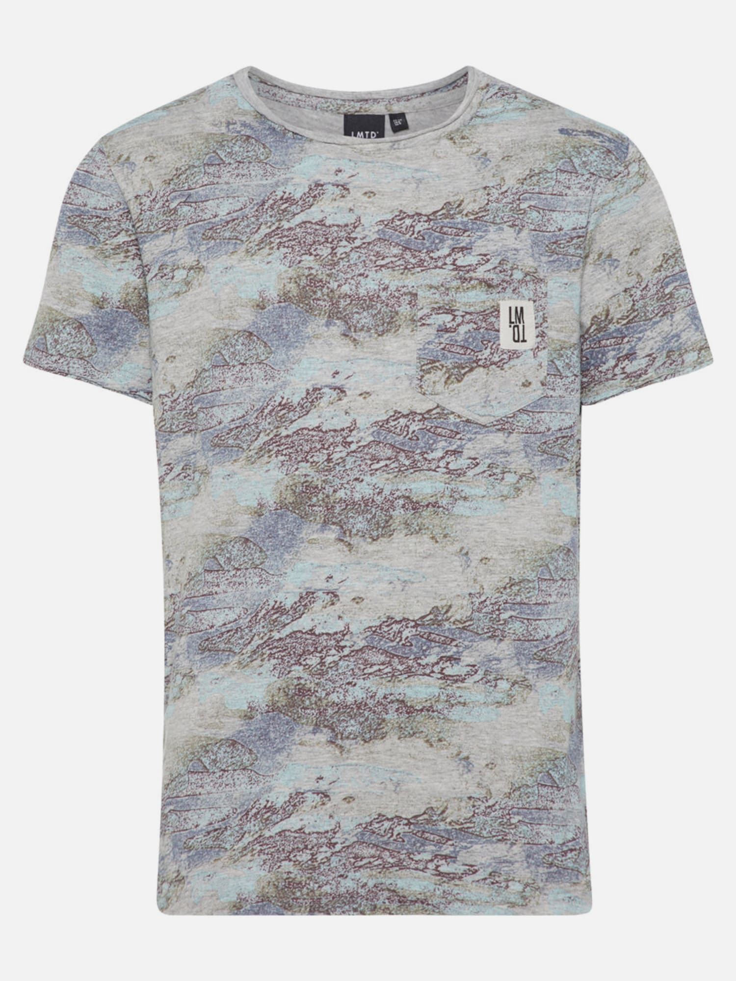 Name it print t shirt in grau about you for Print name on shirt