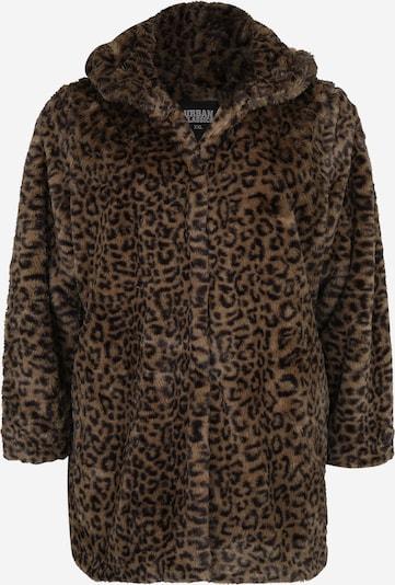 Urban Classics Curvy Between-Season Jacket 'Leo Teddy Coat' in Olive, Item view