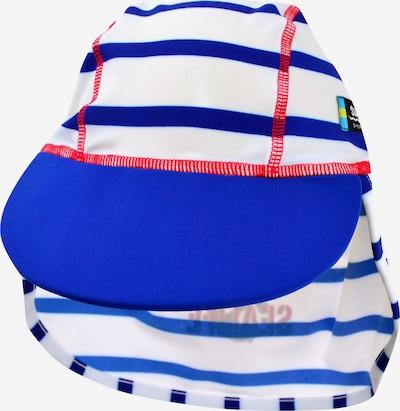 SWIMPY Cap in blau / rot / weiß, Produktansicht