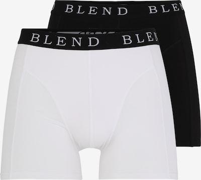 Boxer trumpikės iš BLEND , spalva - juoda / balta, Prekių apžvalga