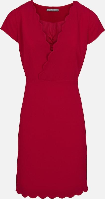 Heine Abendkleid in rot  Bequem und günstig