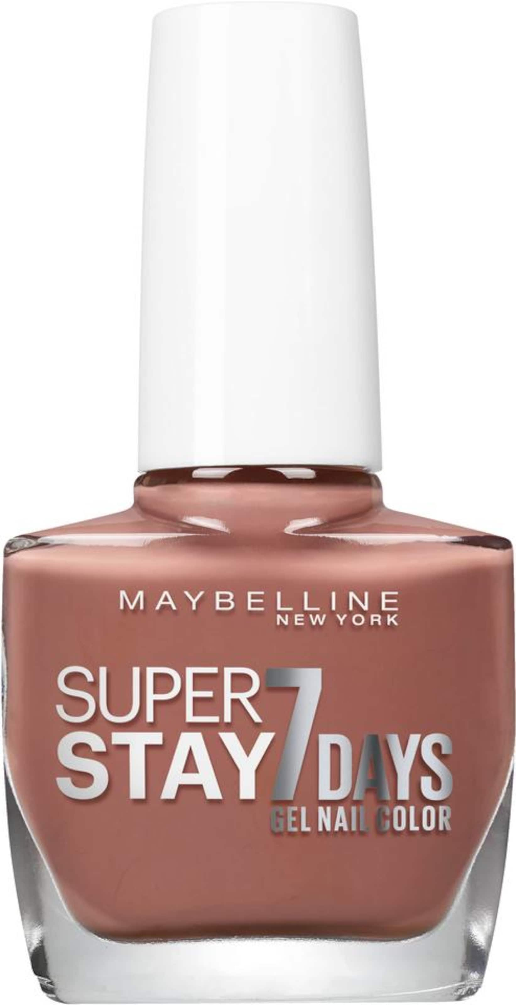MAYBELLINE New York 'Nagellack Superstay 7 Tage City Nudes', Nagellack