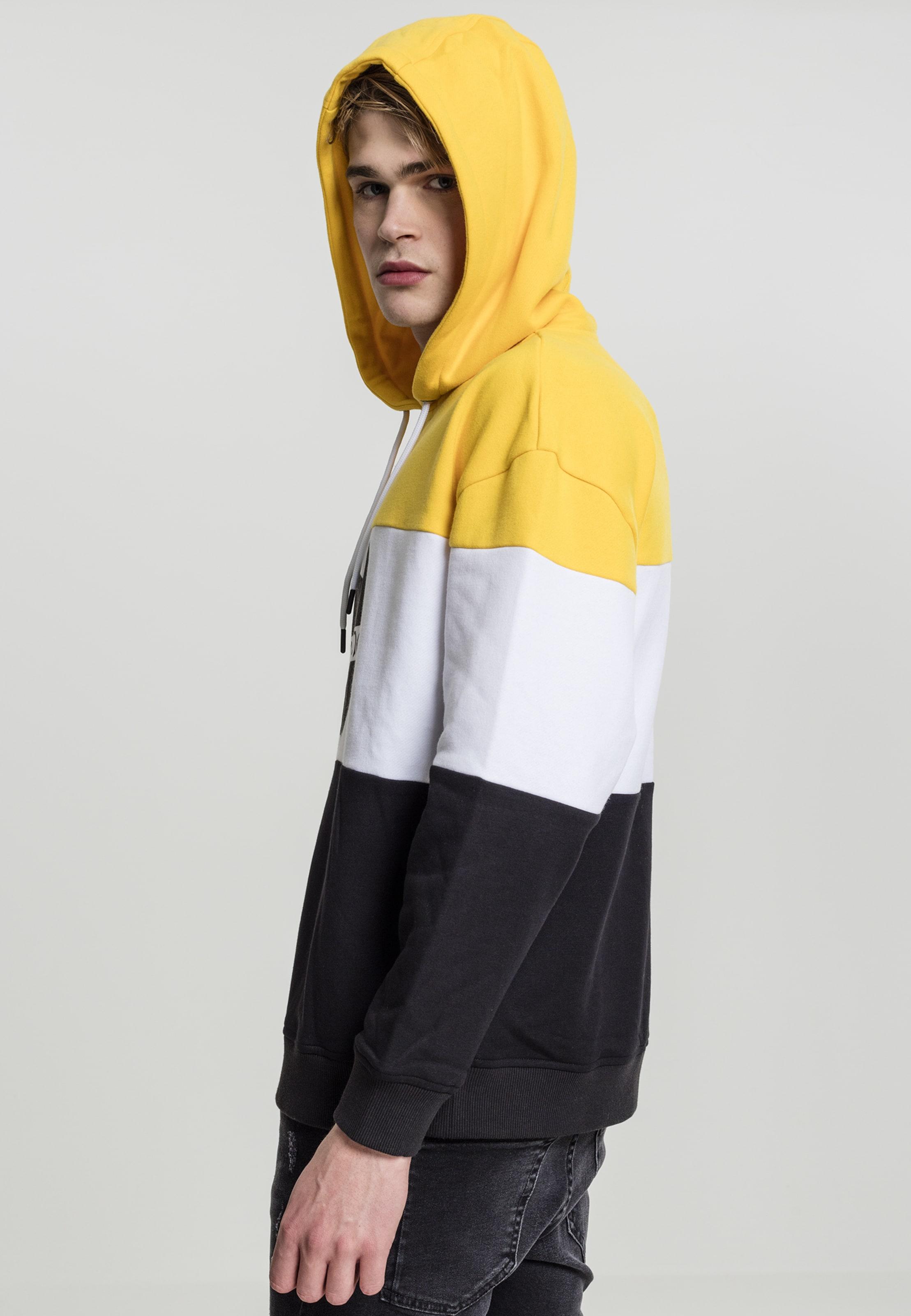 Hoody Mister 'wu In Weiß GelbSchwarz Tee Block' wear 80nOPXwk