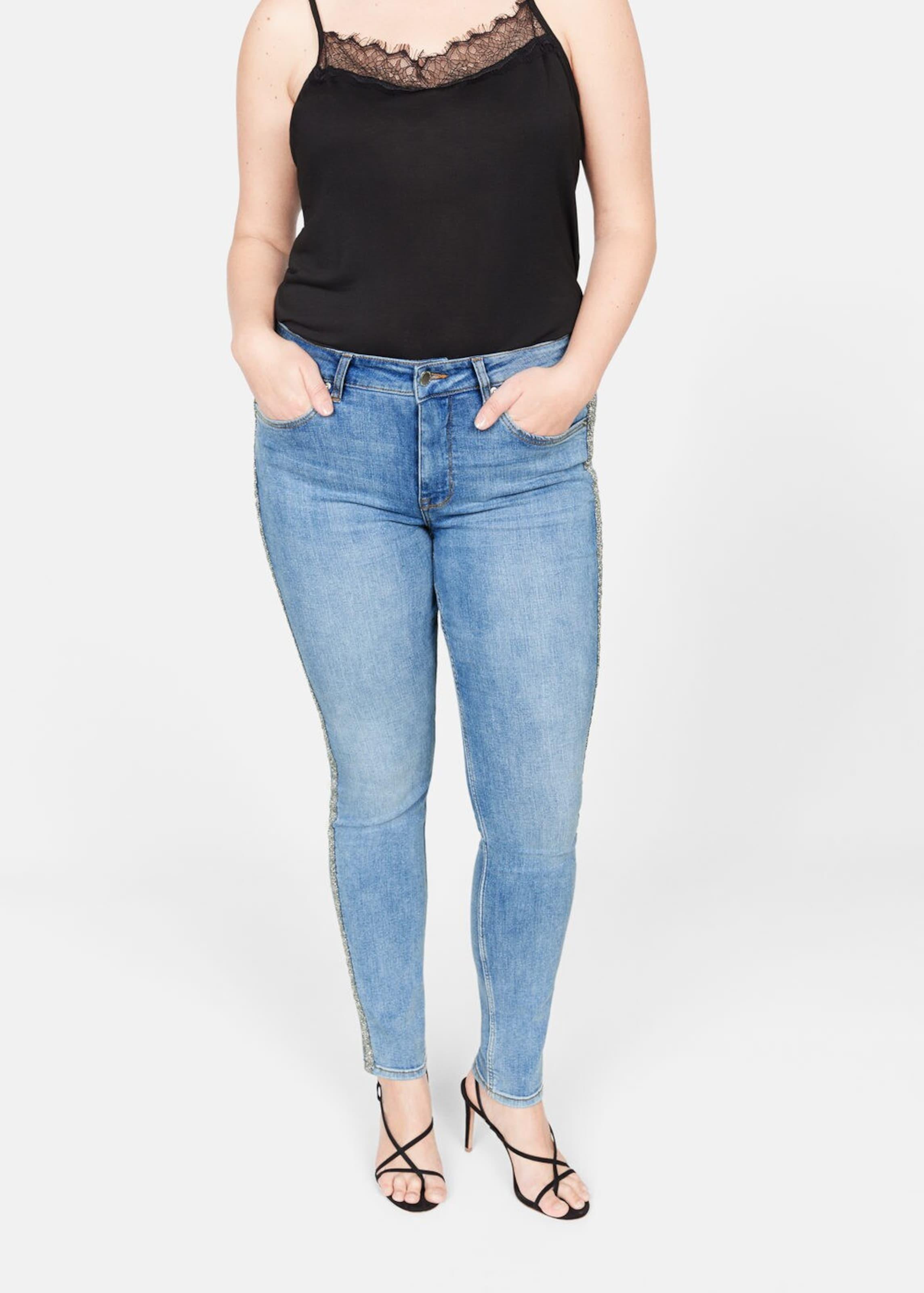 'silver' In Violeta Mango Denim Blue By Jeans L4j5AR