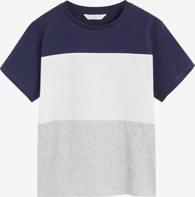 MANGO KIDS Shirt 'CAMISETA BLOCK6' in de kleur Navy, Productweergave