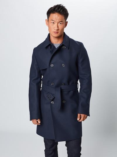 HUGO Mantel 'Maluks' in dunkelblau, Modelansicht