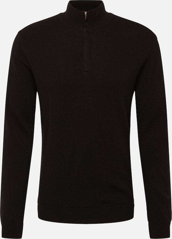 UNITED COLORS OF BENETTON Pullover 'MAGLIA' in schwarz, Produktansicht