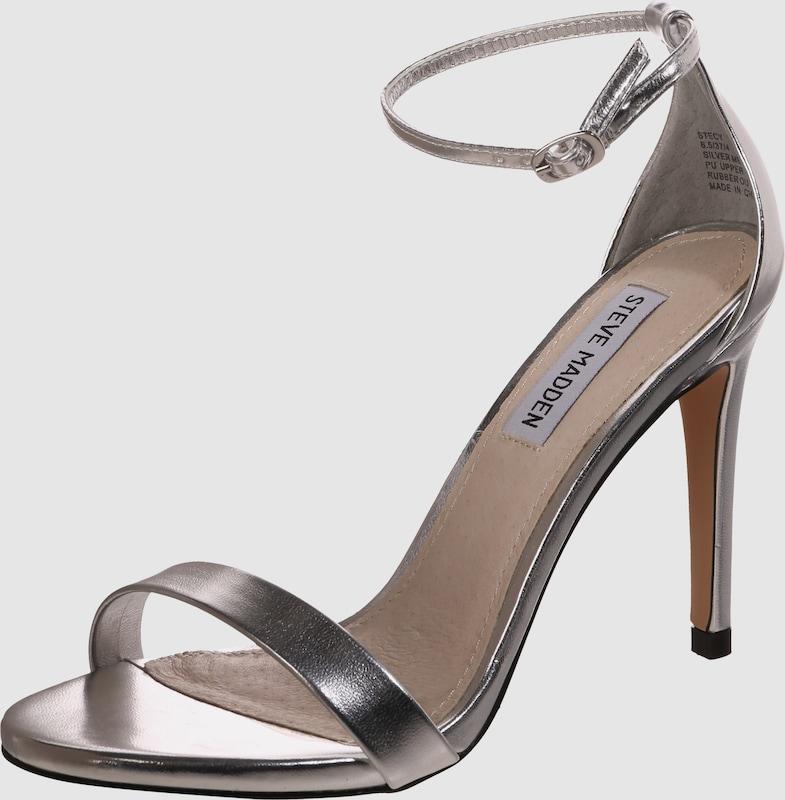 STEVE MADDEN Stiletto-Sandale in Lackoptik 'Stecy Kunststoff Bequem, gut aussehend